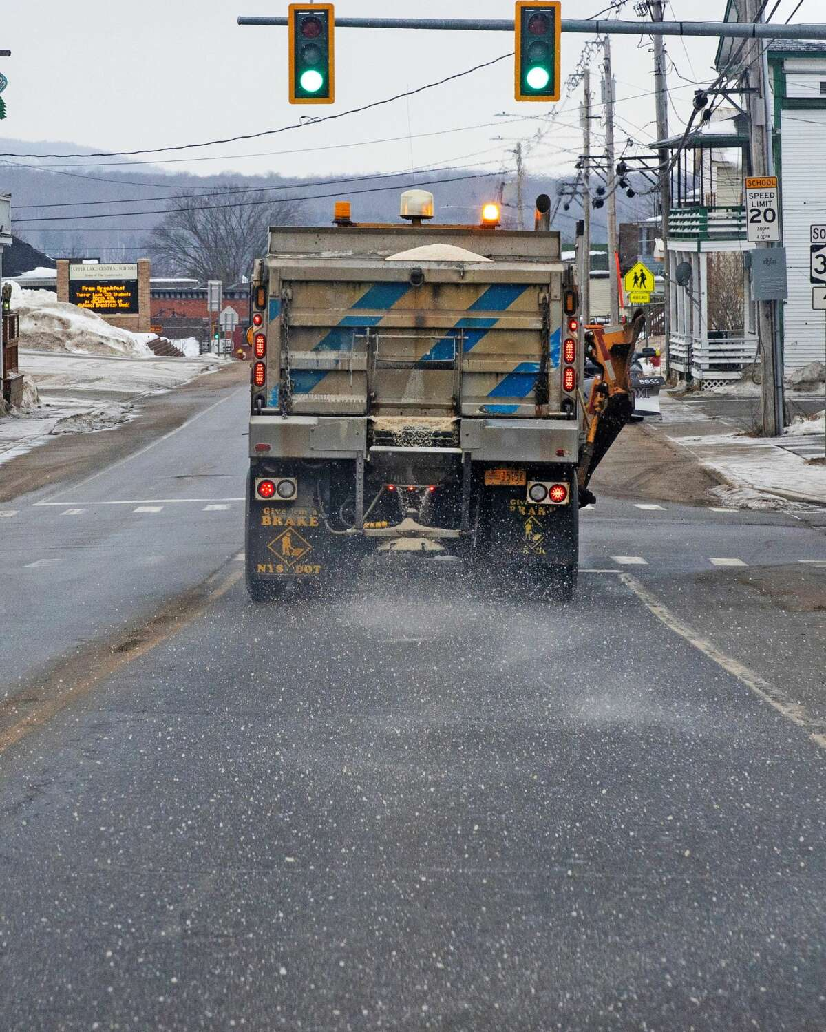 Road salt is a concern in the Adirondacks.