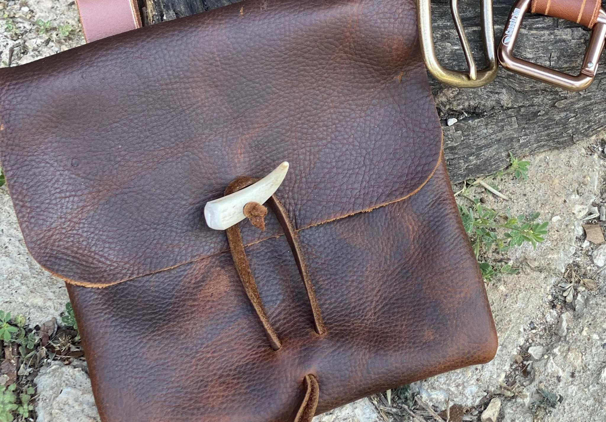 Cool, handmade leather goods made in San Antonio area
