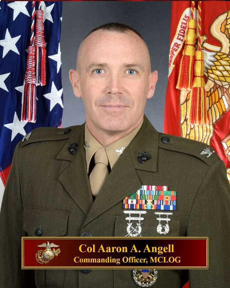 Col. Aaron Angell Photo: Debbie Angell / Contributed Photo
