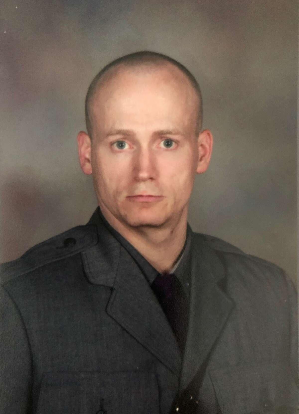 Trooper Jeremy VanNostrand died on Nov. 27, 2018, in a crash near the Fonda State Police barracks.