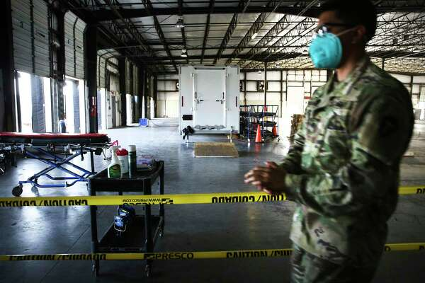 The Texas National Guard has been sent to the Valley to coordinate body transportation and storage. The Weslaco facility holds bodies for three counties.