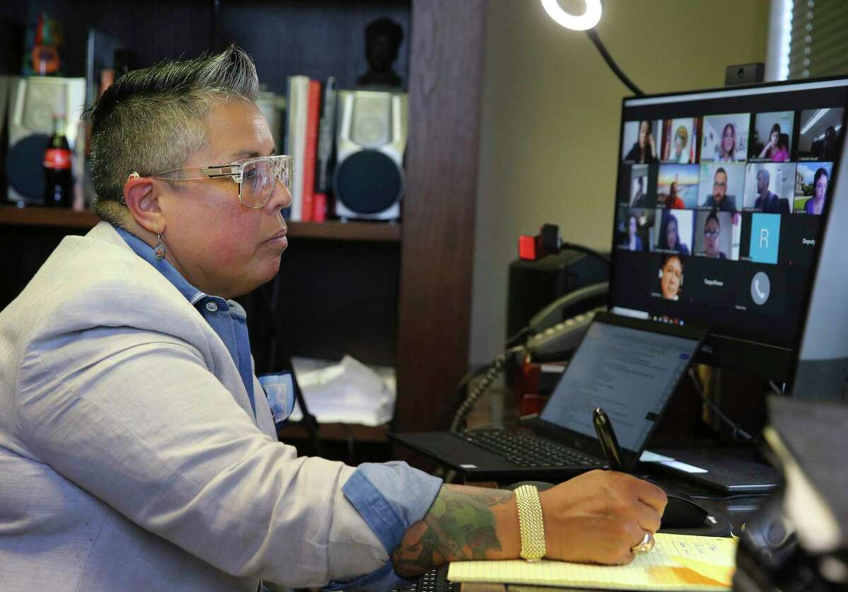 Reflejo Court, a new pre-trial diversion program created by HB 3529 and championed by County Court-at-Law No. 13 Judge Rosie Gonzalez, kicks off with four participants Zooming in for the specialty court's first docket on Friday, July 31, 2020. The program is aimed at first-time domestic violence offenders with a history of substance abuse.