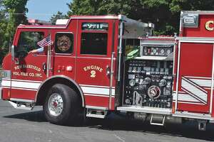 Engine 2 from the New Fairfield Volunteer Fire Department.