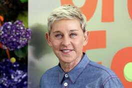 """FILE - Ellen DeGeneres attends the premiere of Netflix's """"Green Eggs and Ham,"""" on Nov. 3, 2019, in Los Angeles. DeGeneres apologized to the staff of her daytime TV talk show amid an internal company investigation of complaints of a difficult and unfair workplace. (Photo by Mark Von Holden /Invision/AP, File)"""