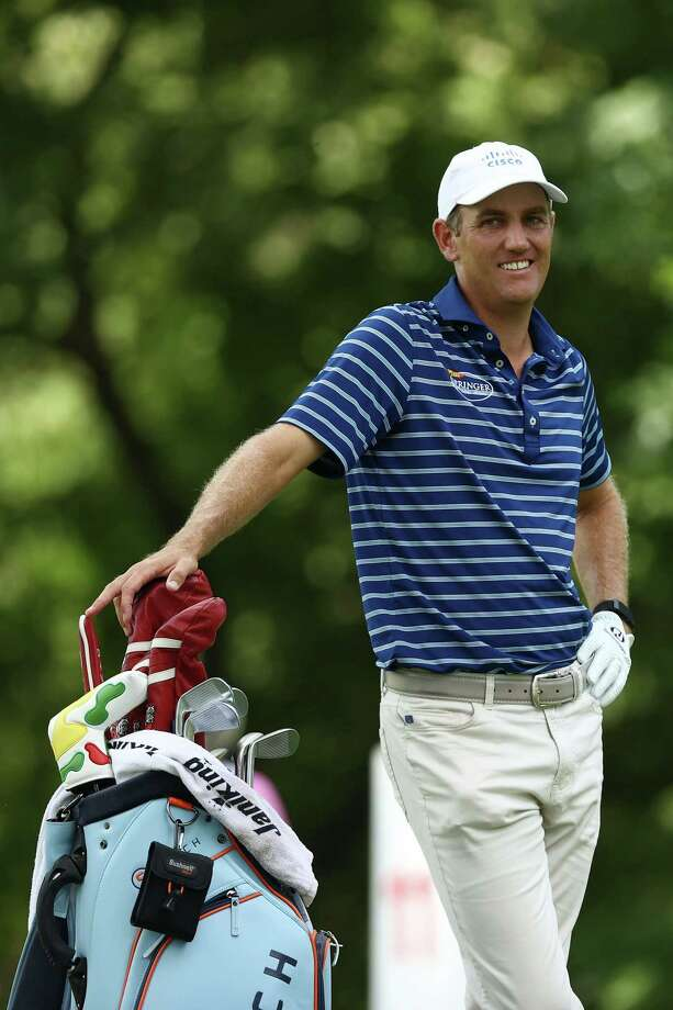 DETROIT, MICHIGAN - JULY 02: Brendon Todd of the United States look on from the 11th tee during the first round of the Rocket Mortgage Classic on July 02, 2020 at the Detroit Golf Club in Detroit, Michigan. (Photo by Gregory Shamus/Getty Images) Photo: Gregory Shamus / 2020 Getty Images