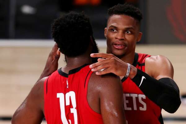 Rockets rally to stun Mavericks in overtime of restart opener ...