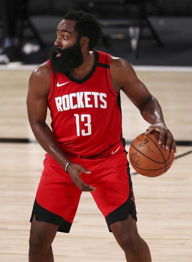 Houston's James Harden passed Calvin Murphy to become the second-leading scorer in franchise history behind Hakeem Olajuwon. Photo: Mike Ehrmann / Associated Press