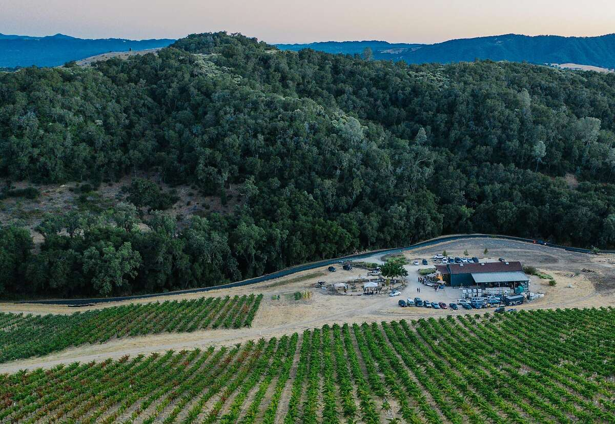 Villa Creek Cellars is seen on Sept. 22, 2018 in Paso Robles.