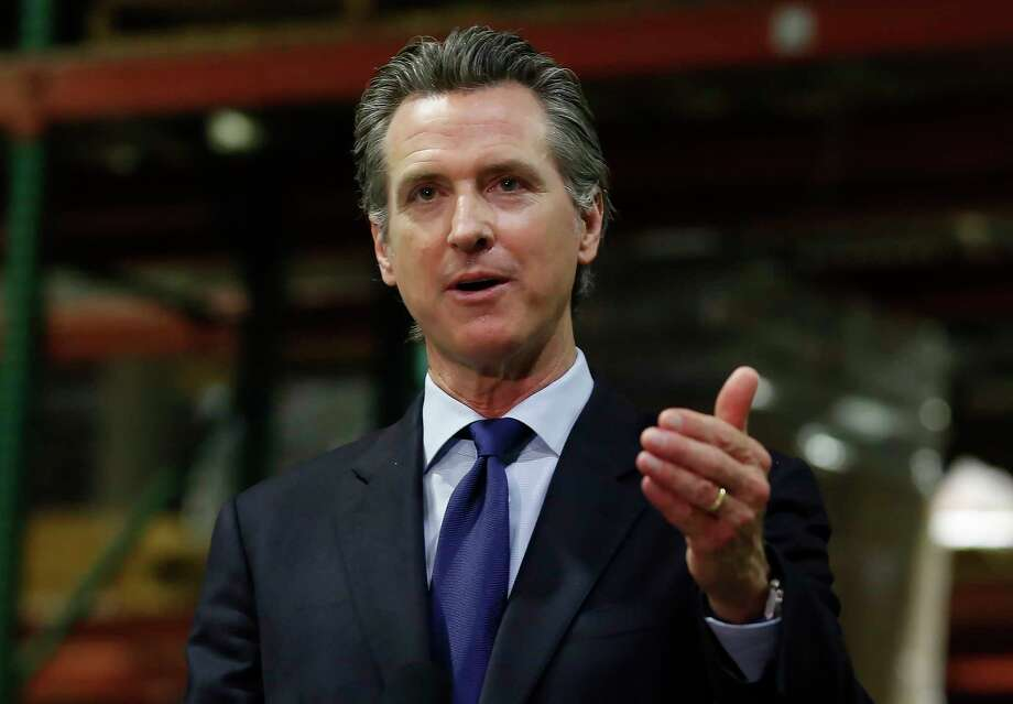 FILE - California Gov. Gavin Newsom gestures during an update June 26, 2020, in Rancho Cordova, Calif., on the coronavirus pandemic. Photo: Rich Pedroncelli, AP / Copyright 2020 The Associated Press. All rights reserved