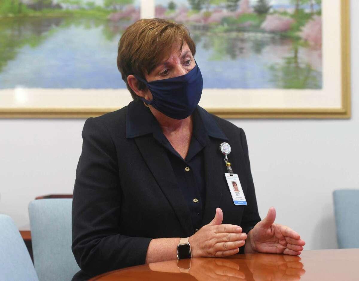 Greenwich Hospital President Diane Kelly.