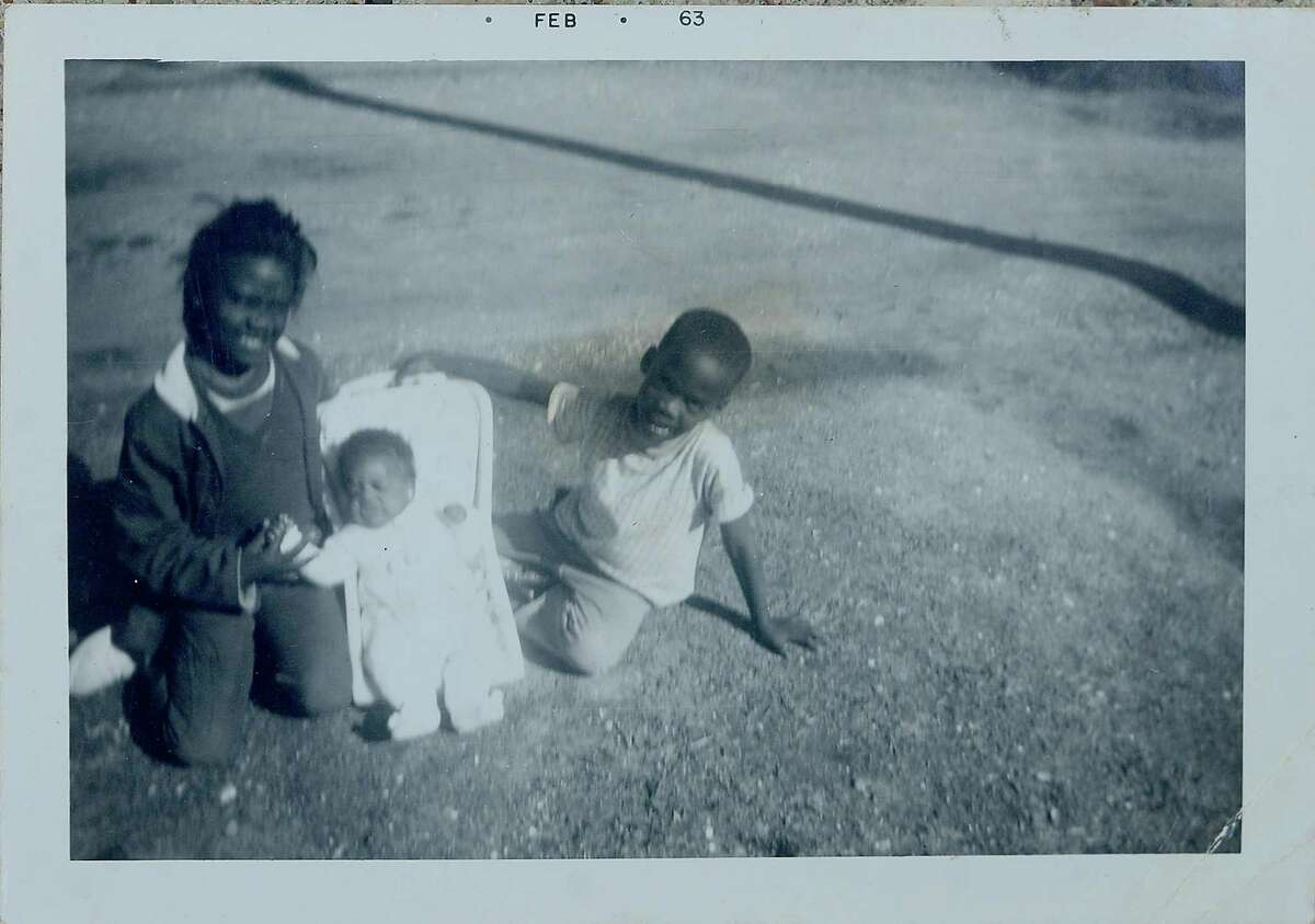 Family photos show Mildred Gibbs with baby Vickey Gibbs and brother Avery. Photo taken Monday, July 27, 2020 Photo provided by Cynthia O'Neil