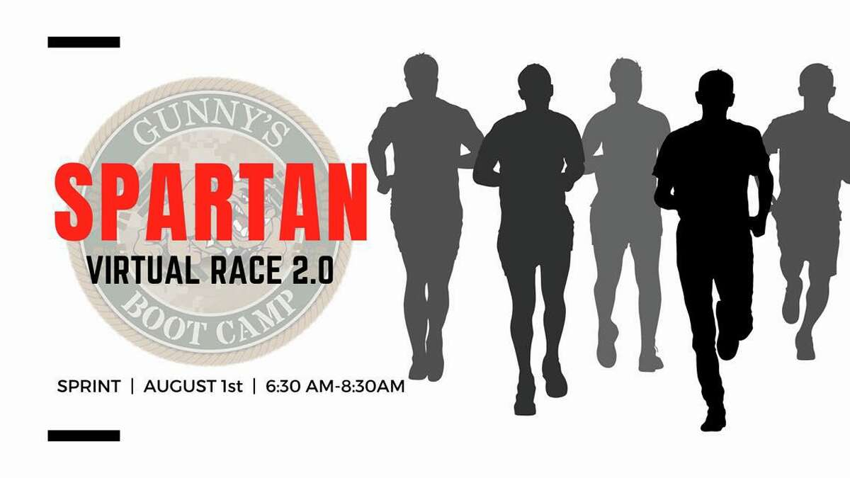 The Spartan Virtual Race 2.0 organized by Gunny's Boot Camp runs from 6:30 a.m. to 8:30 a.m. Saturday, Aug. 1.