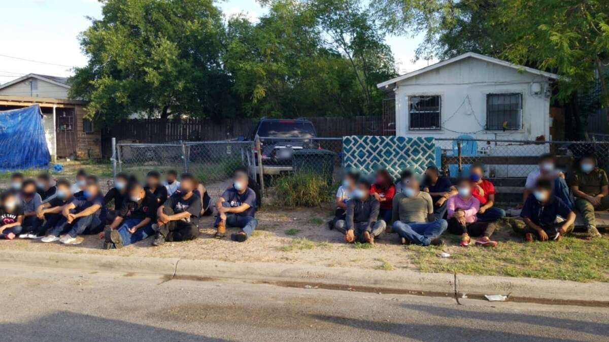 Local, state and federal authorities busted two stash houses located within the same property in the 3900 block of Santa Isabel Avenue. Authorities detained 51 immigrants who had crossed the border illegally.
