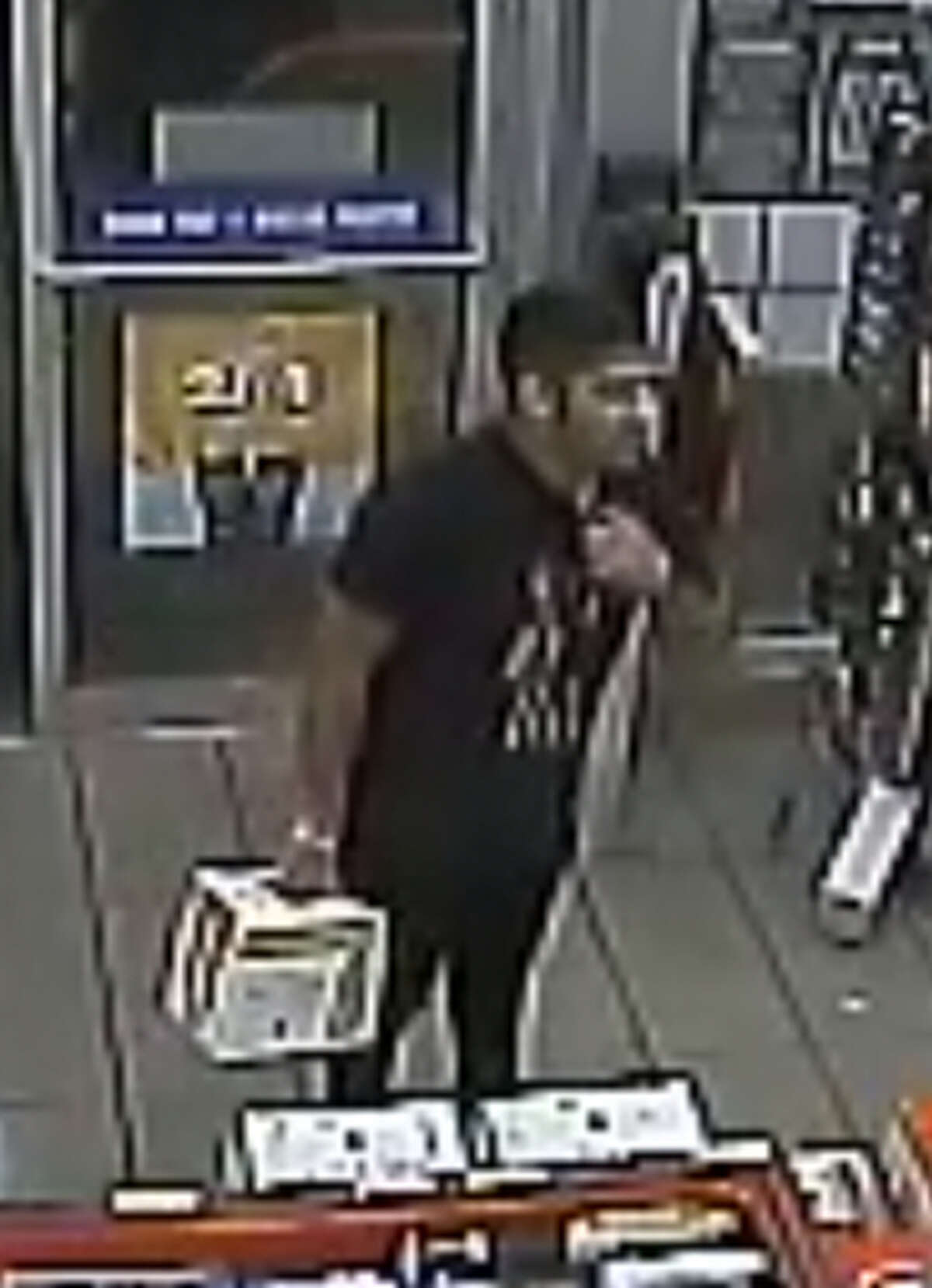 Authorities said this man allegedly assaulted a store clerk on Mines Road after the clerk refused to provide service for not wearing a facemask.