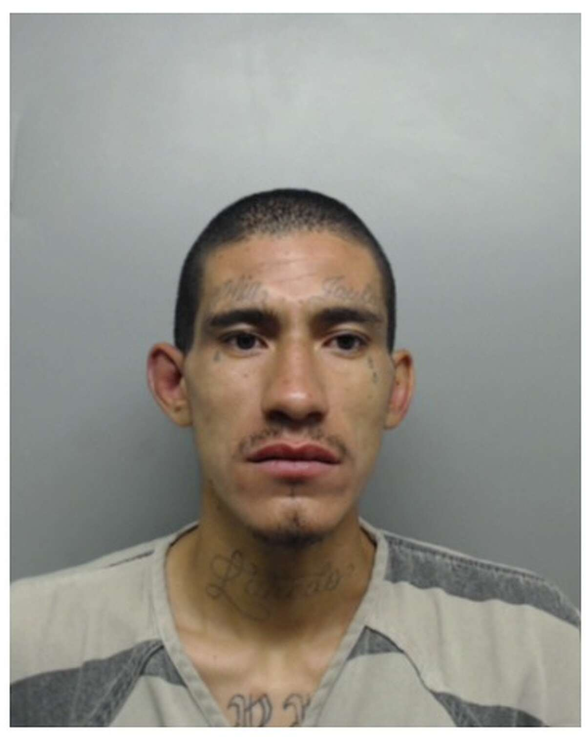 Jose Guadalupe Torres, 26, was served with 12 active warrants for his arrest.