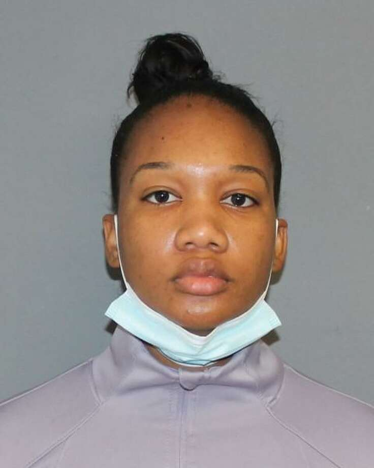 Princess Shabazz, 28, of Ansonia, Conn., was charged with first-degree assault, disorderly conduct and second-degree criminal mischief on Saturday, Aug. 1, 2020. Photo: Contributed Photo / Shelton Police Department