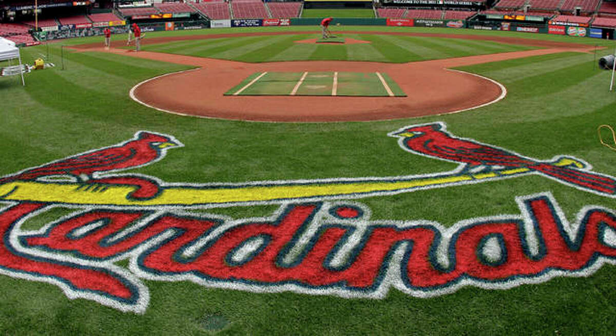 Busch Stadium, home of the St. Louis Cardinals since 2006. The Busch Stadium name has been used on three different ballparks.