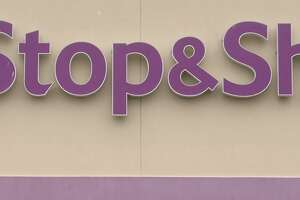 File photo of the Stop & Shop sign at one of the store in Bridgeport, Conn., taken on April 11, 2019.