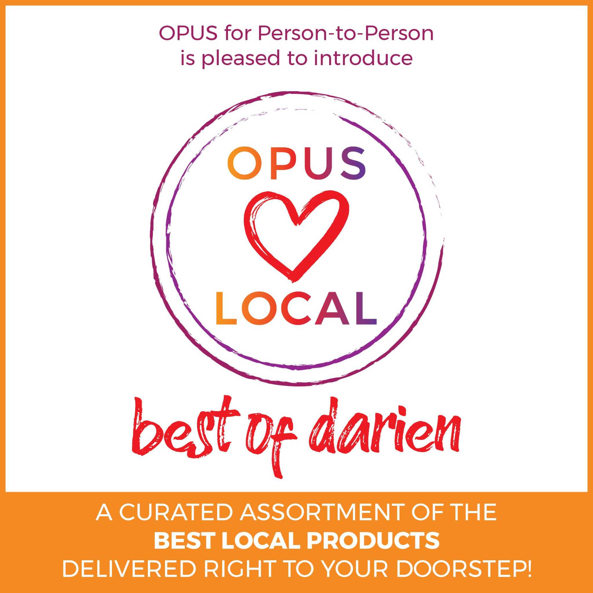 Boxes of curated Darien business goods will benefit Person-to-Person
