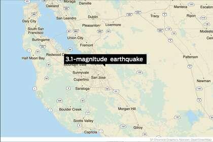 Earthquake Hits Near Alum Rock In San Jose Sfchronicle Com