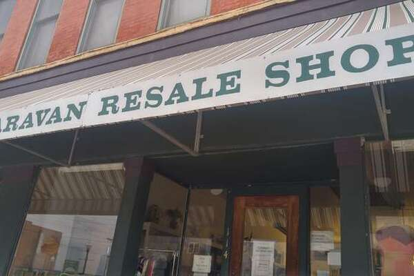 Caravan Resale Shop located on Broadway in Alton remains closed due to continued concerns over the coronavirus, but other resale shops in Wood River and Jerseyville have reopened and are continuing to accept locations.