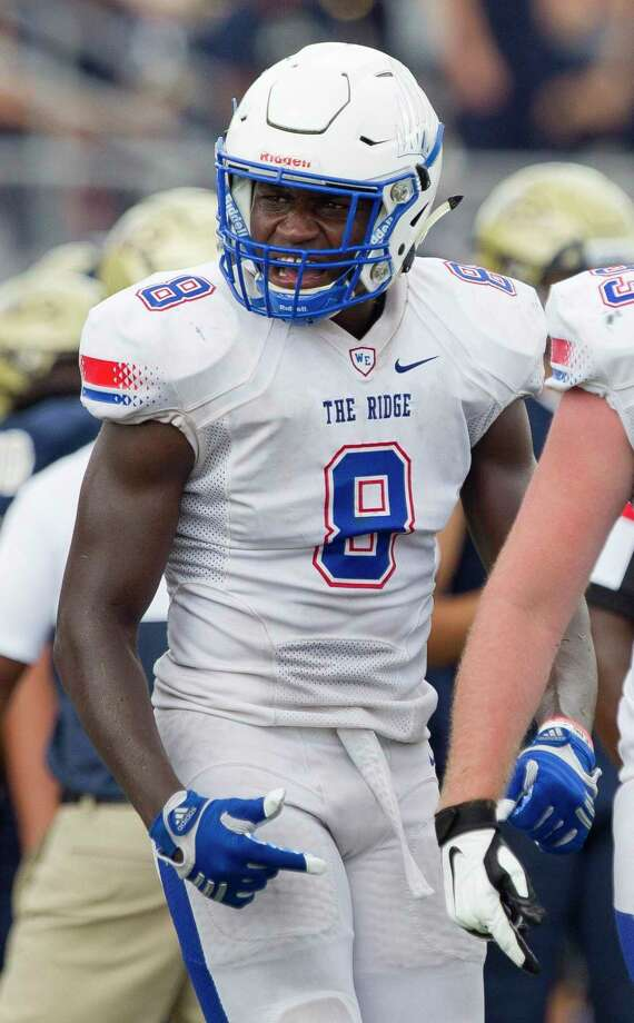 Oak Ridge linebacker K.C. Ossai is the top returning player for the War Eagles' defense. Photo: Jason Fochtman, Houston Chronicle / Staff Photographer / Houston Chronicle
