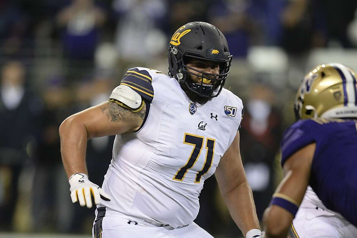 Cal lineman Jake Curhan is shown in a file photo.