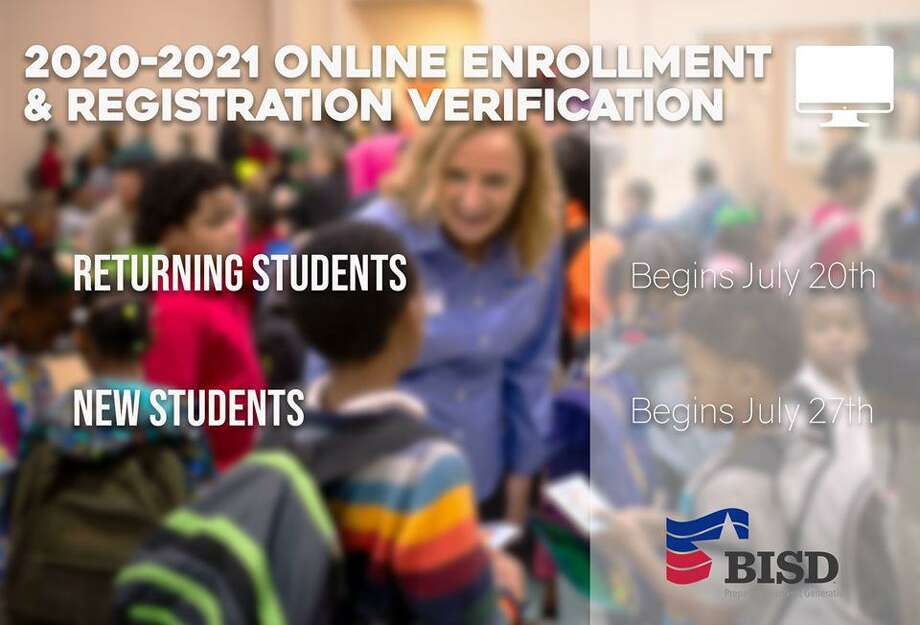 BISD is extending their registration deadline to Aug. 17. The district will use that registration information to plan for in-person instruction which begins in September. Photo: Isaac Windes / Beaumont Independent School District