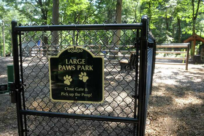 Jared's Dog Park in Stratford on Wednesday.