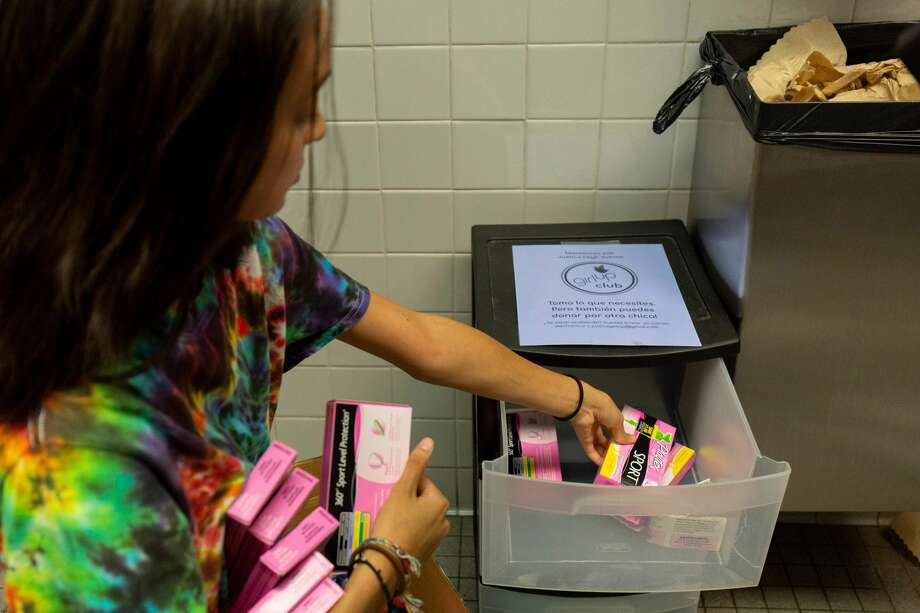 Test takers will be allowed to bring their own tampons and pads with them during the upcoming bar exam in Texas. Photo: ALASTAIR PIKE/AFP Via Getty Images