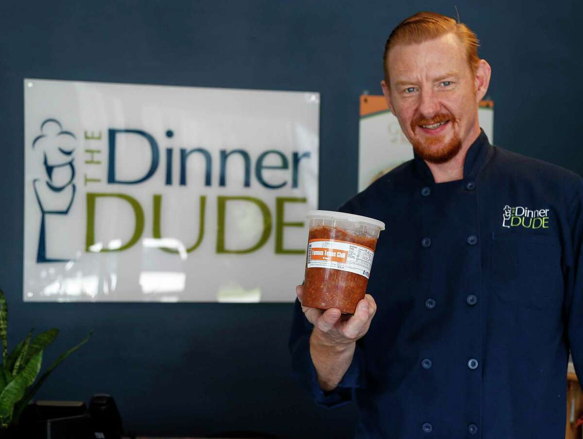 """Mark Zoch grew up watching his mother struggle with weight and related health issues. Now, he's created a business, called """"The Dinner Dude"""" to help others lose weight."""