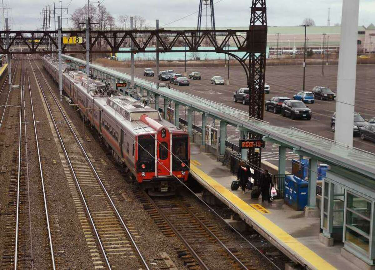 An man was charged with assault on an MTA train conducter after it stopped at the Fairfield metro station.