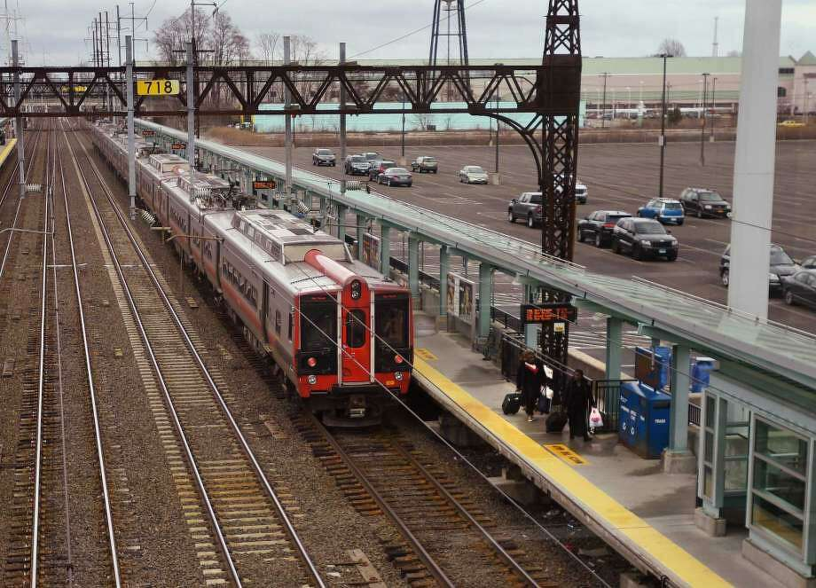 An man was charged with assault on an MTA train conducter after it stopped at the Fairfield metro station. Photo: File Photo