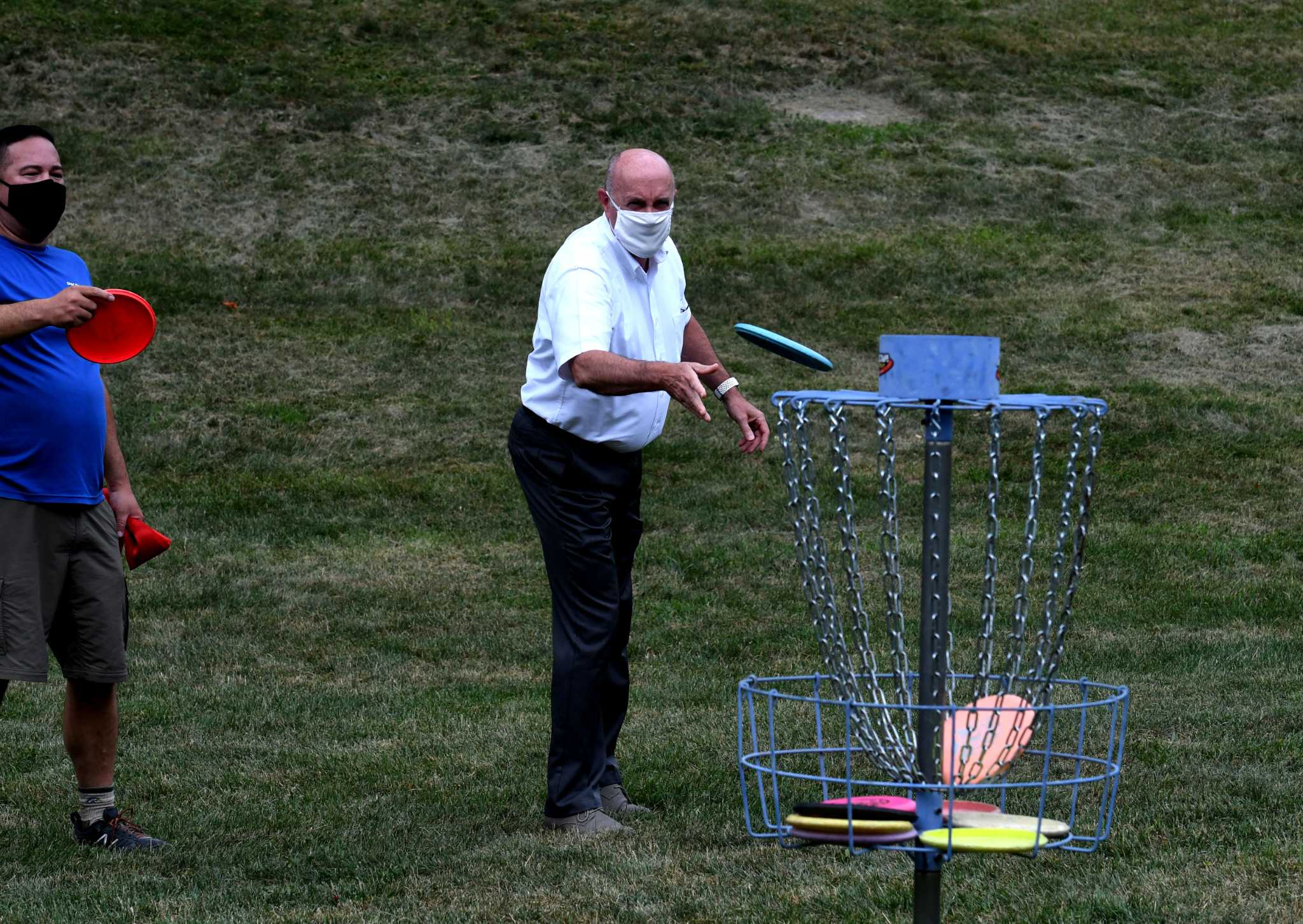 Disc golf course debuts at Troy's Prospect Park