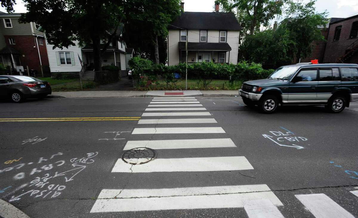 Newly or recently installed crosswalks in the South End, have drawn complaints from some residents for their drag on available parking spaces.