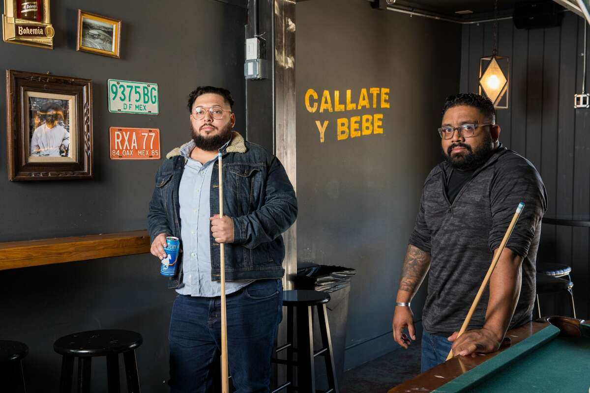 Sharif Al-Amin (right), Jessie Gonzales (not pictured) and Greg Perez (left) of Houston's Barrel of Monkeys hospitality group, announced on Monday that they have taken over the lease at the Garden Oaks address with plans to open a bar and kitchen this fall.