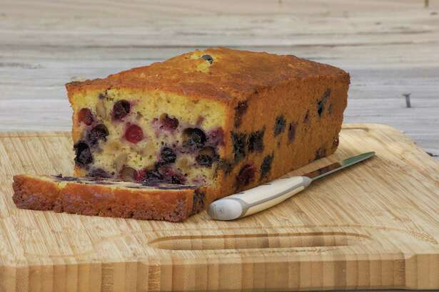 Blueberry-Orange Bread (recipe in column): Try this bread toasted and spread with softened cream cheese.