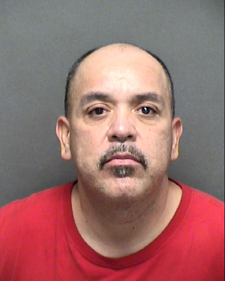 Mario Pena, 48, was arrested in connection with a Facebook post, threatening to shoot up Fort Hood in retaliation for Vanessa Guillen's death, an arrest affidavit said. Photo: Bexar County Sheriff's Office