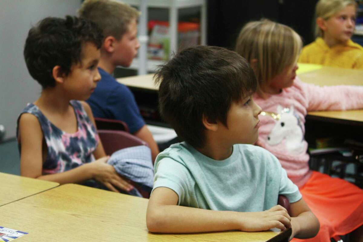 Pictured are Big Rapids students on the first day of the 2019-20 school year. This fall, students will be returning in groups for the first two weeks before making a complete return. (Pioneer file photo)