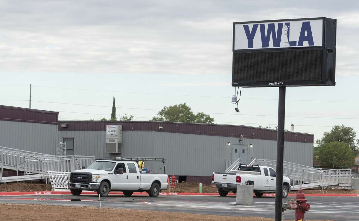 Young Women's Leadership Academy has expanded with new building as well as a new parking area 08/03/2020. Tim Fischer/Reporter-Telegram