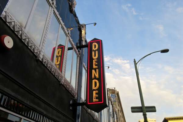 The exterior view of Duende in Oakland. Chef-owner Paul Canales announced that he would temporarily close his Spanish restaurant amid the ongoing pandemic.