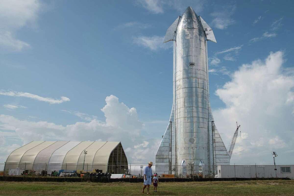 SpaceX's Starship Prototype.