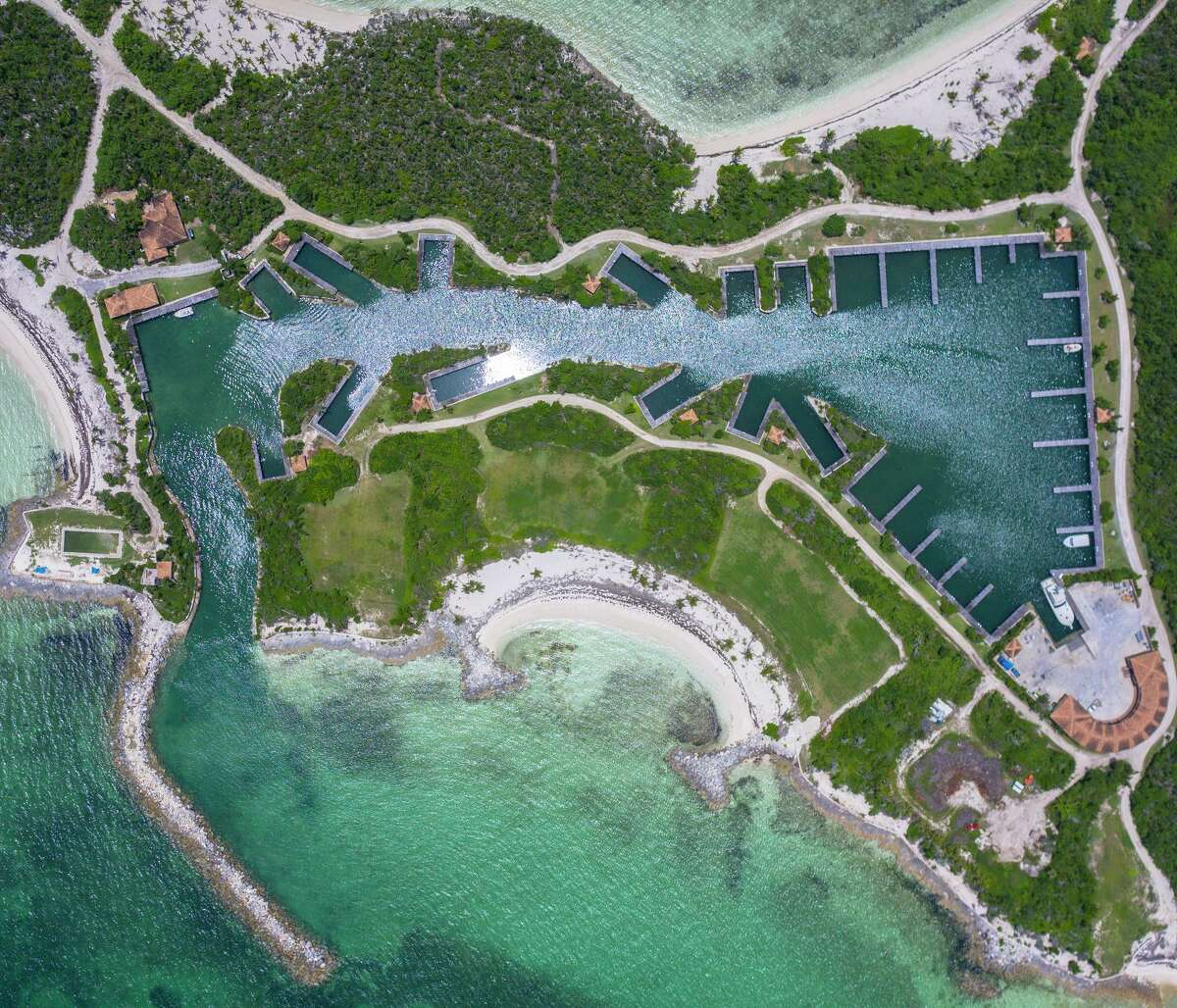 Montage Cay, a luxury resort that will be completed in 2023, will feature seven white-sand beaches and a 46-slip marina.