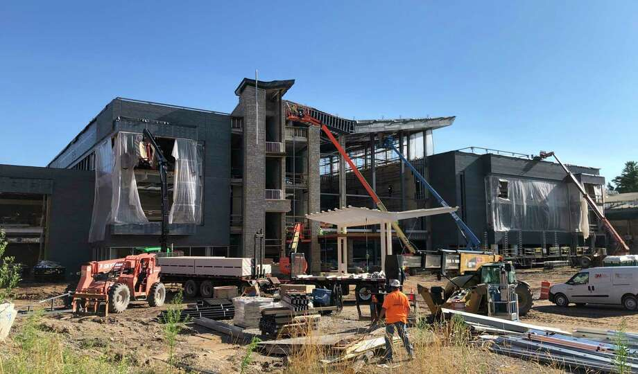 MidMichigan Health's new Heart and Vascular Center is taking shape. (Photo provided)