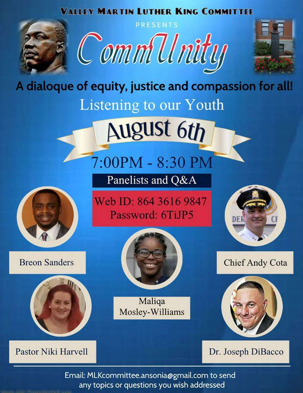 The Valley MLK Committee held an online dialogue Aug. 6.