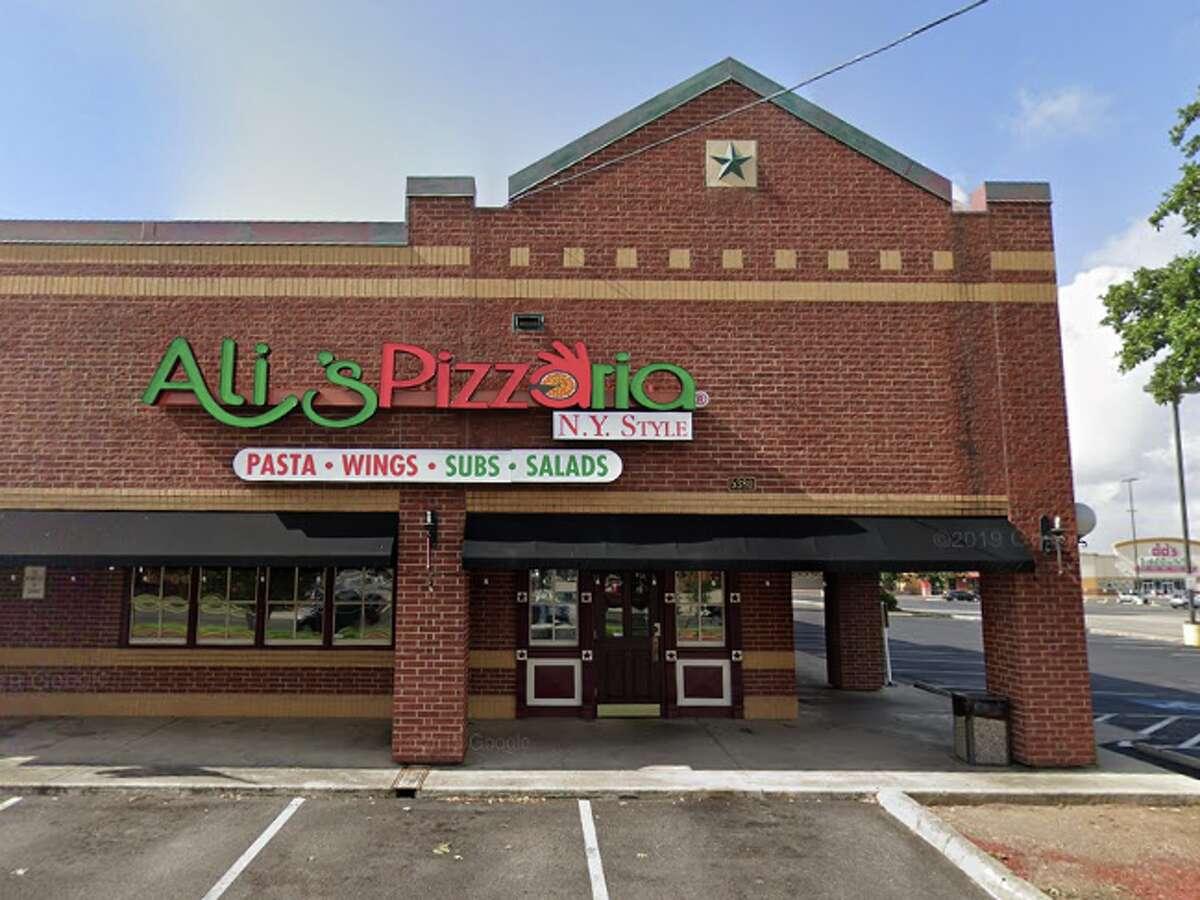 Ali's Pizzaria: 5380 Walzem Road Date: 07/22/2020