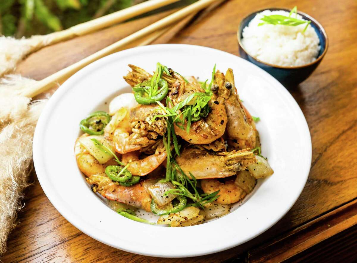 A variation of salt-and-pepper shrimp is part of the menu at the Cambodian-inspired Golden Wat Noodle House from the wife-and-husband team of Susan Kaars-Sypesteyn and Pieter Sypesteyn, who also own and operate Cookhouse Restaurant, NOLA Brunch & Beignets and Bud's Southern Rotisserie in San Antonio.