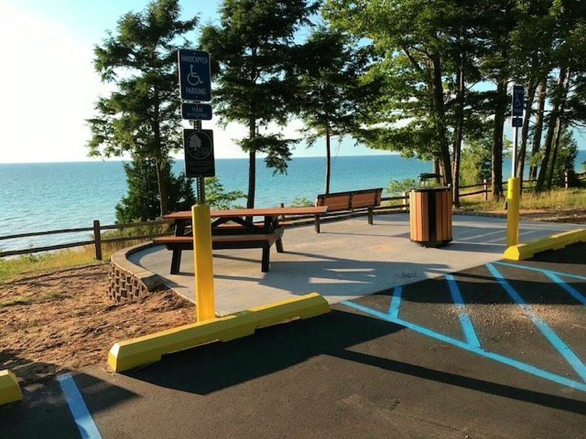 Magoon Creek Park in Filer Township has undergone several improvements aimed at providing universal accessibility as part of the Explore the Shores program. (Courtesy Photo/Glenn Zaring)