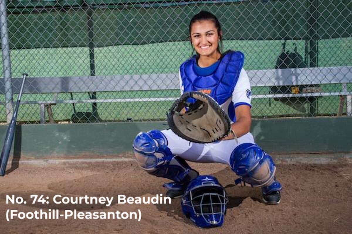 Bay Area 75 Rankings, Courtney Beaudin, Foothill, Softball