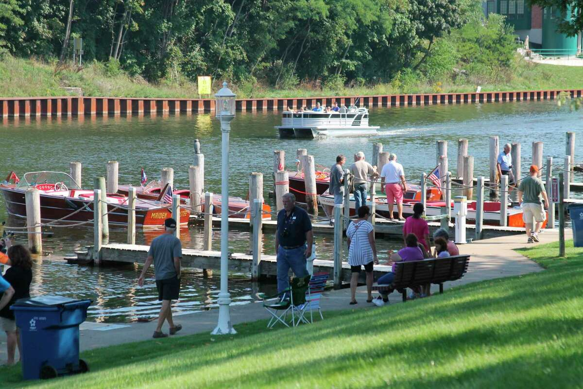The city marina was a hopping place during the 2019 Hops & Props event last summer. Manistee's new harbor master, Jeff Mikula, said a thriving marina comes down to amenities like fuel, showers and laundry, but also the allure of a beautiful area and geometry of the turning radius for boats. He said Manistee has all of those things. (File photo)